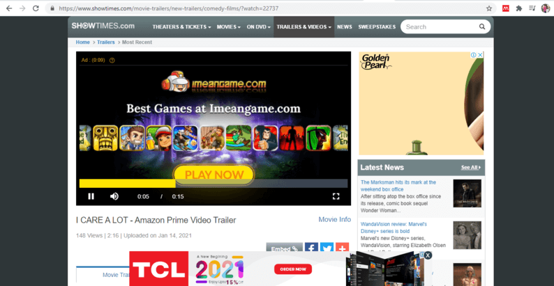 Overlay outstream video ads