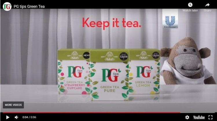 pg green tea youtube bumper ad