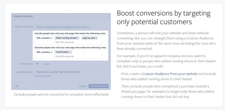Facebook Video Remarketing Strategies - Exclude Converting Traffic