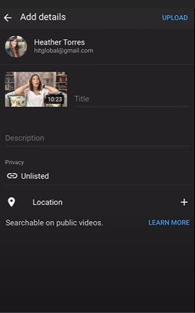 select video for mobile