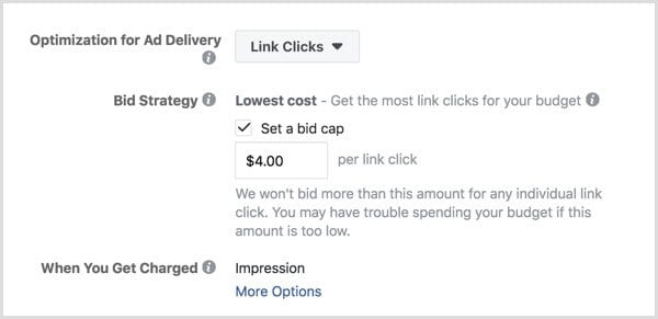 Making Facebook Paid Ads - Cost Cap Bidding