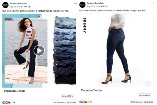 Make Facebook Slideshow Ads - Be Clear, Bright, and Bold