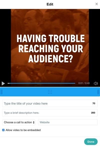 video ad customization