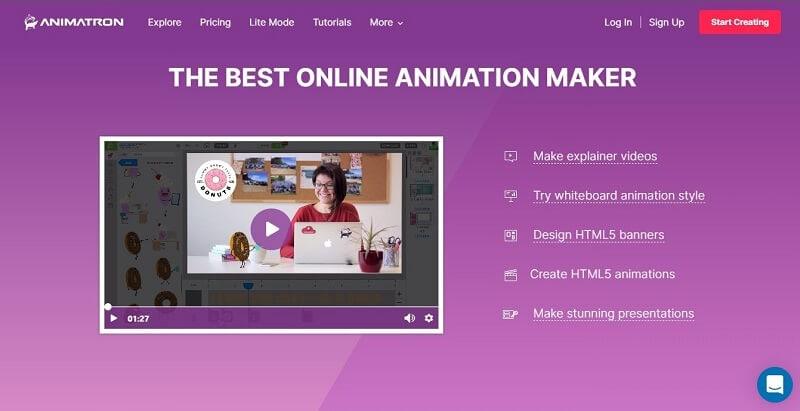Animatron Animated Video Maker