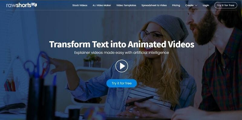Rawshorts Animated Video Maker