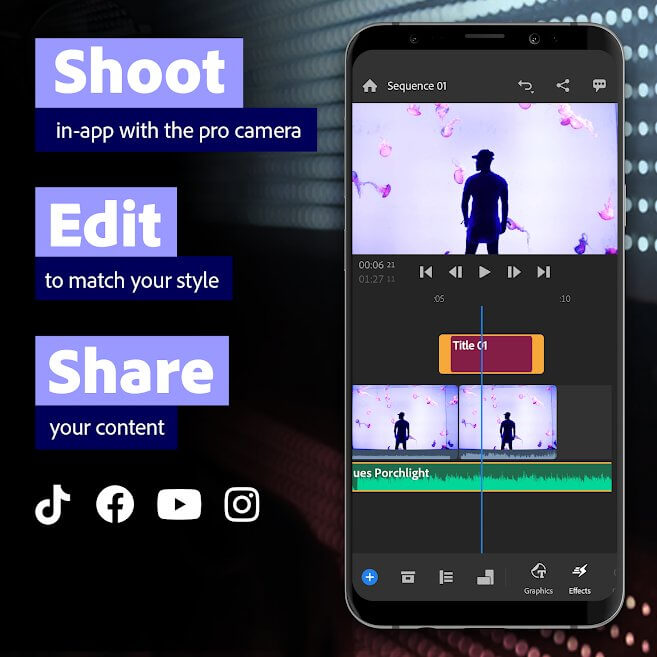 free video editing app android - 1