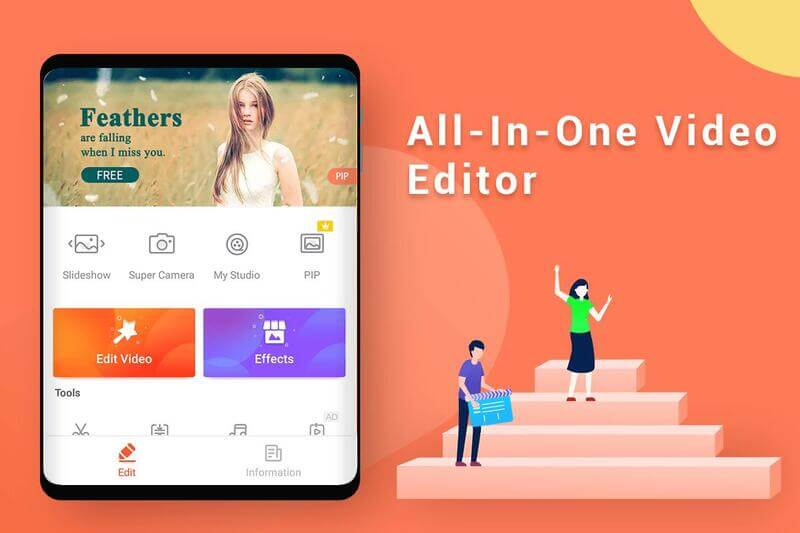 free video editing app android - 3
