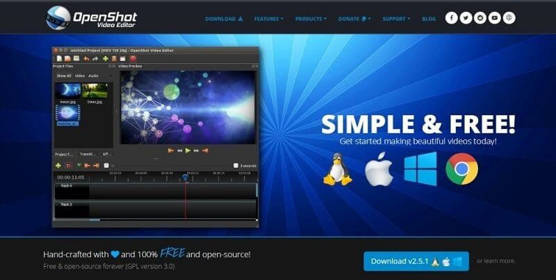 OpenShot iMovie Alternative