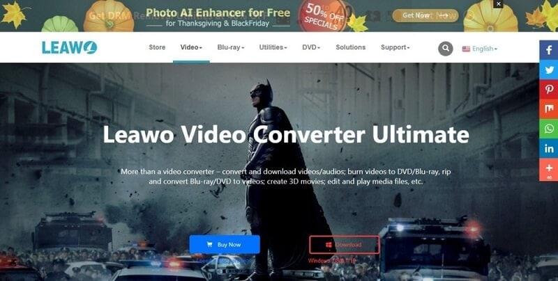 Leawo iMovie Alternative