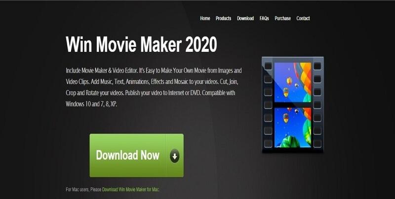 Win Movie Maker iMovie Alternative