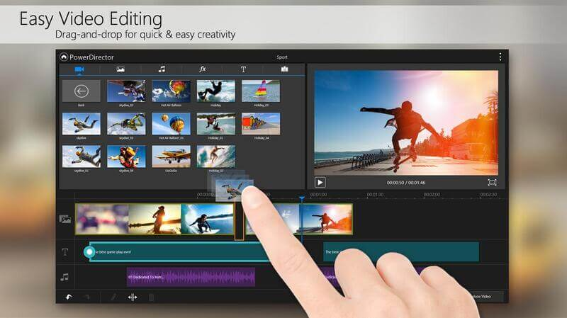 video editor for android - 5