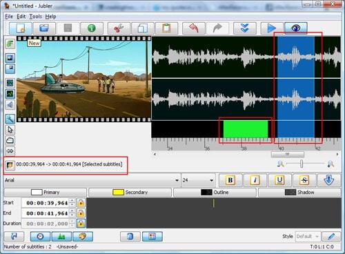 video subtitle editor 2