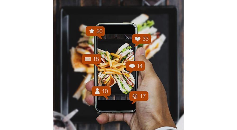 Instagram food marketing