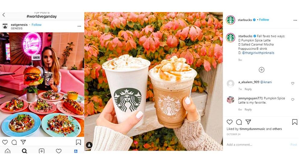 restaurant, Instagram marketing
