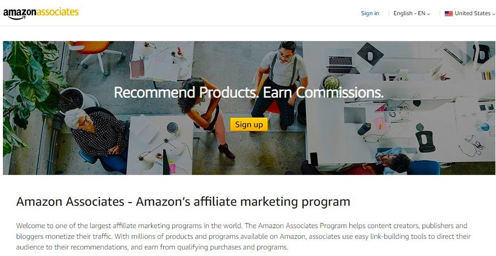 Amazon Associates.