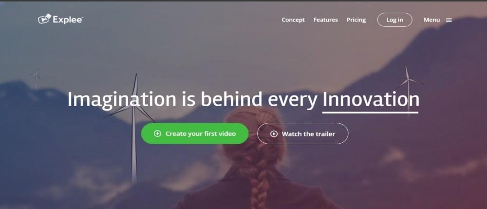 Explee Video Animation Tool.