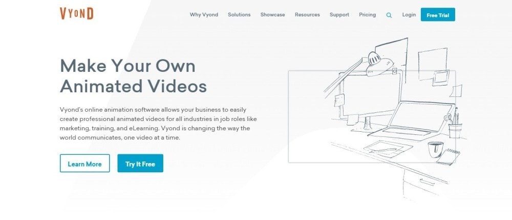 Vyond Video Animation Tool.