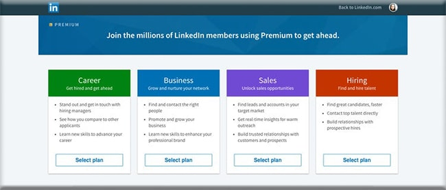 LinkedIn Premium Services