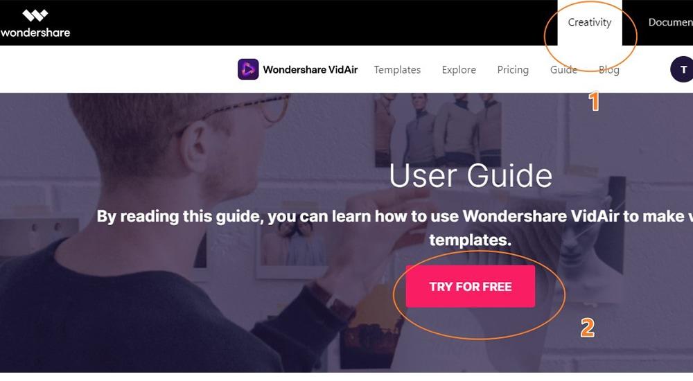 Wondershare VidAir