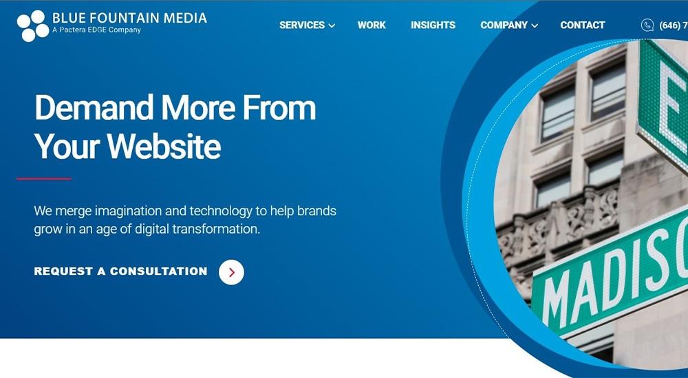 Blue Fountain Media.