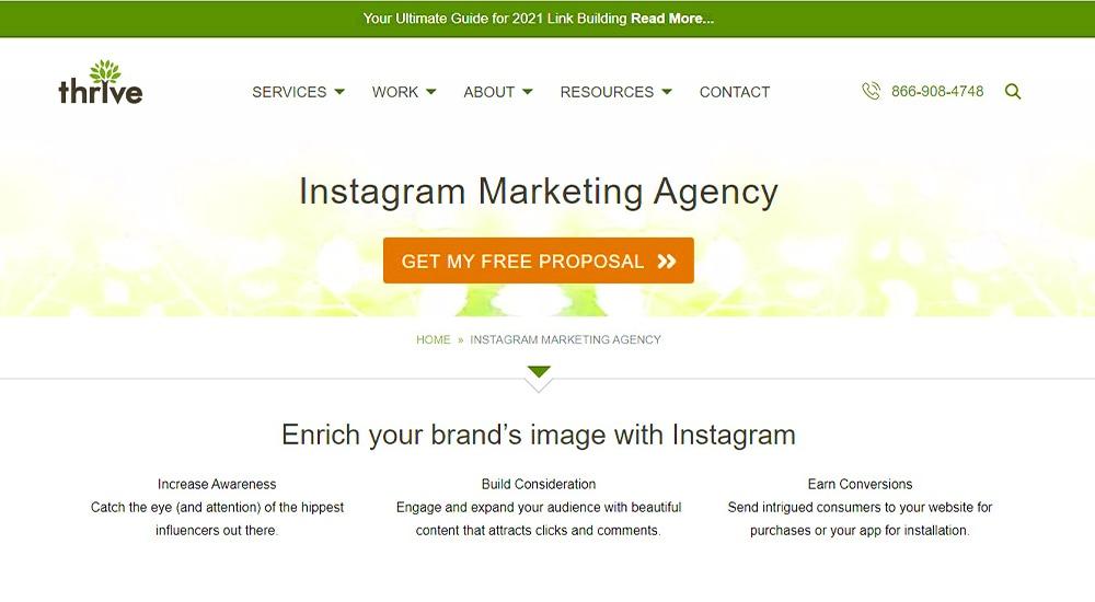 Thrive Advertising Agency.