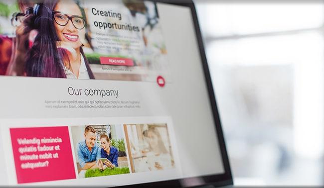 Impressive Company Page