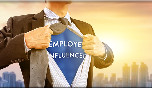Employees Influencers