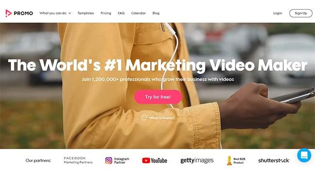 Promo Marketing Video Maker.