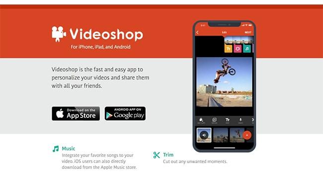 Videoshop Marketing Video Maker.