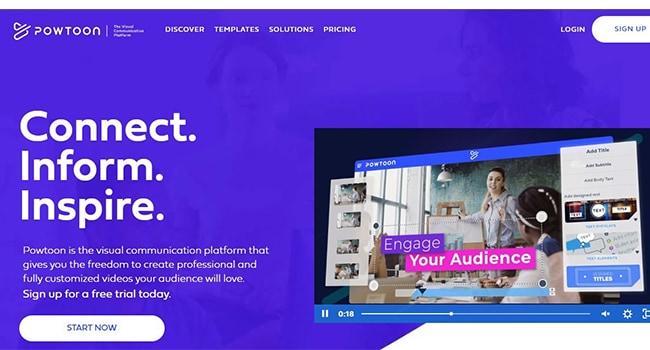 Powtoon Marketing Video Maker.