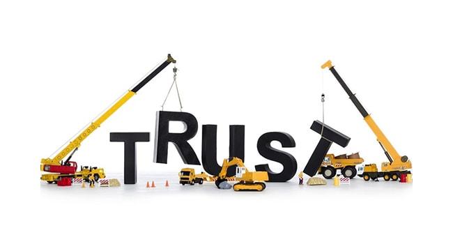 Building Trust.