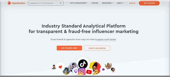 hypeauditor influencer agency