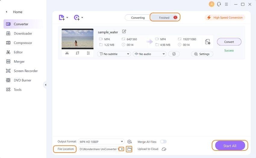 convert 4k videos to 1080p