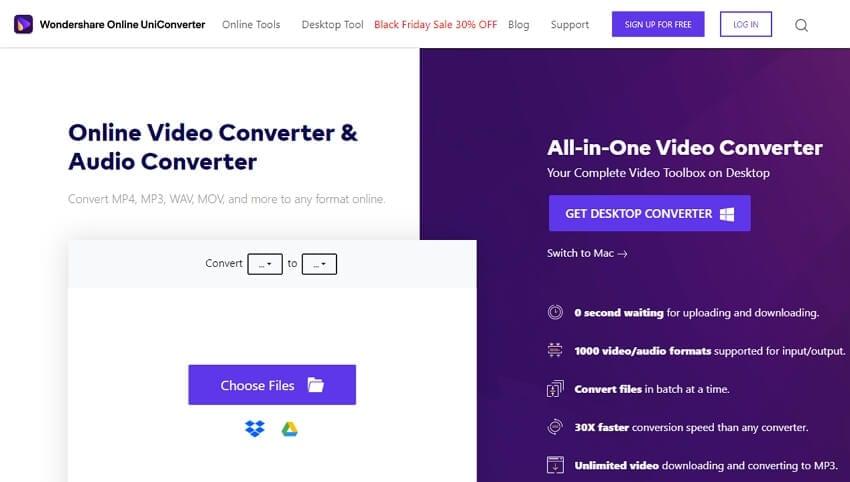 Online AIFF Convetrer - Online UniConveter