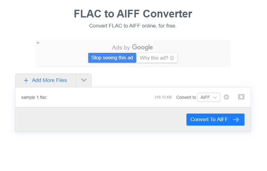 Convert FLAC to AIFF online with FreeConvert