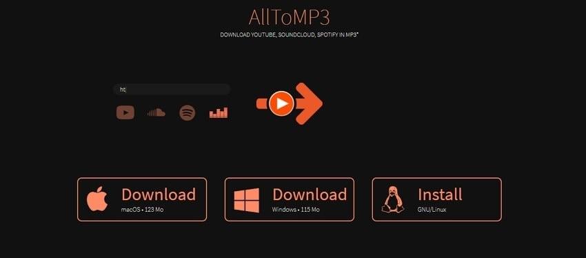 AlltoMP3 audio converter