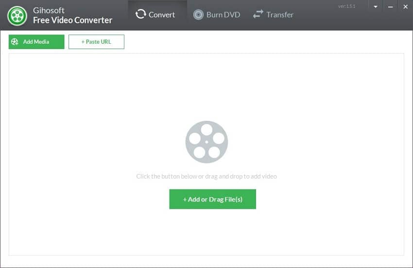 Gihosoft Free Video Converter