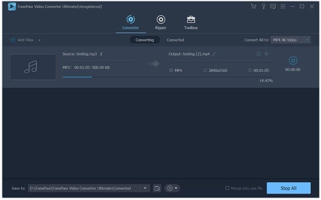 FonePaw AMR to MP3 Converter