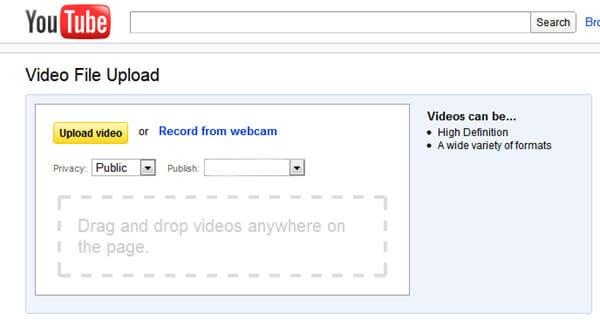 رفع MP4 إلى YouTube - حدود الحجم YouTube