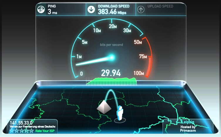 Upload MP4 to YouTube - Keep Good Internet Connection
