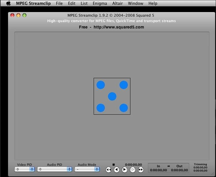 handbrake for mac -MPEG Streamclip
