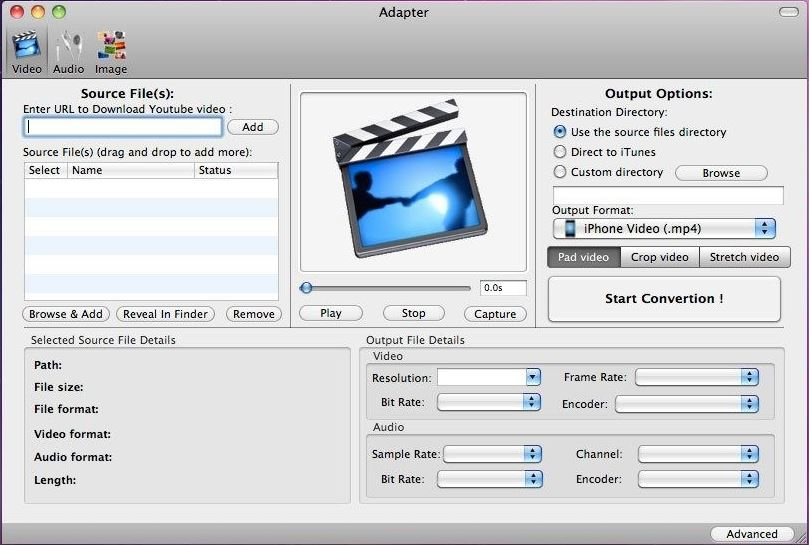handbrake for mac -Adapter