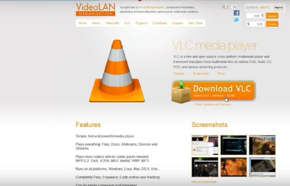 use vlc to play bluray movies
