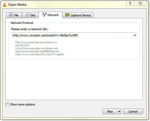 mp4 to vlc converter