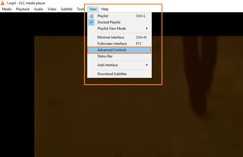 edit video with vlc
