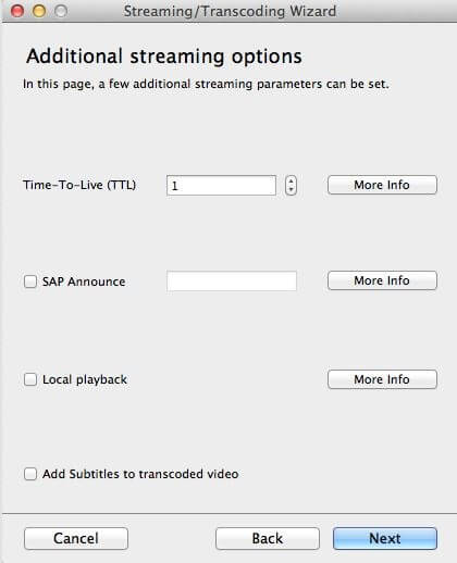 stream vlc to tv