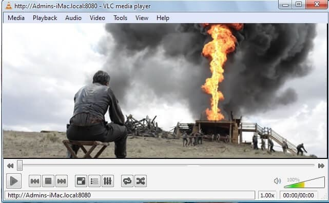 stream vlc to tv-play video on tv