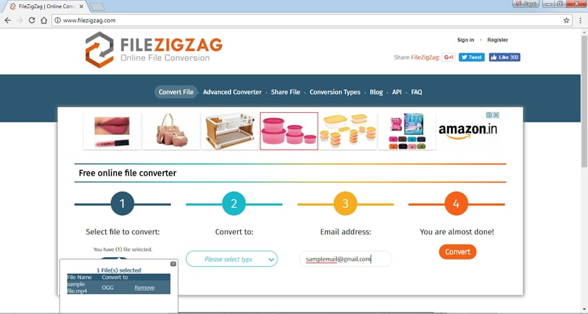 Convert MP4 to OGG Online - FileZigZag