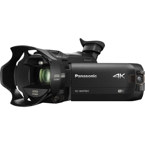 Panasonic HC-WXF991K - Best 4K camcorder in 2017