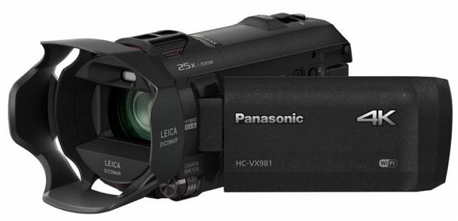 Panasonic HC-VX981K - 10 most popular Panasonic cameras